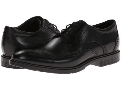 Rockport City Smart Wing Tip Brogue Shoes Black