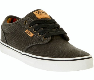 vans atwood black marshmallow