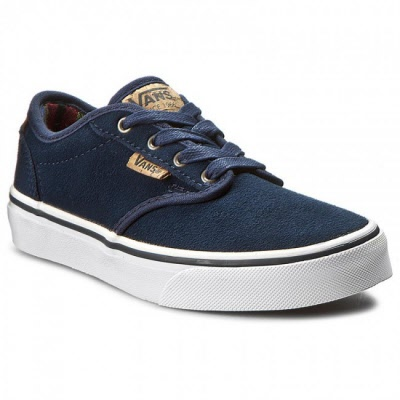 Vans. ATWOOD Deluxe. Suede. BLUE. Sizes: 15.