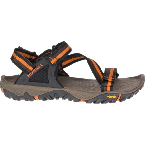 3261b6f66fa1 Merrell. ALL OUT BLAZE WEB. BLACK. Sizes  13. 14. Strap in and set forth.  This adjustable sandal ...