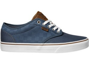 Vans. ATWOOD Canvas. SLATE-Check. Sizes  13. 15 . f4c2d169f