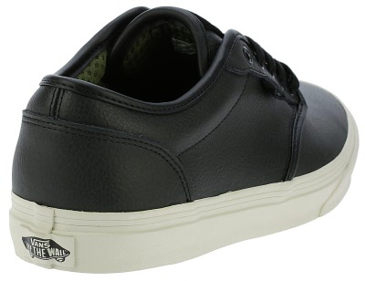 Vans. ATWOOD Classic. Leather. BLACK