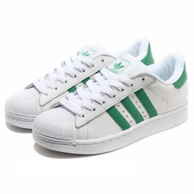 new style dc004 94a31 Adidas Superstar 2. WHITE-Green. Sizes:19.